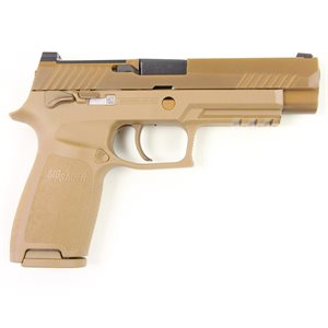 SIG M17 COMMEMORATIVE EDITION 9MM 4.7'' COYOTE PVD 10RD