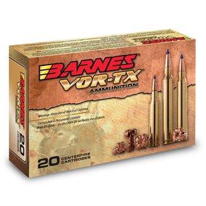 BARNES VOR-TX AMMUNITION 308 WIN 168 GR. 20 CRTG