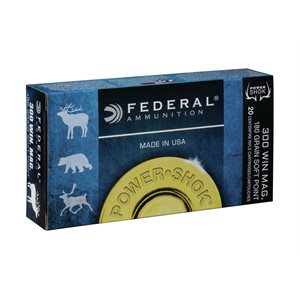FEDERAL 300WIN MAG SP 180GR POWER-SHOCK