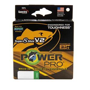 POWER PRO BRAID X8 10LB SUPER 8 SLICK V2