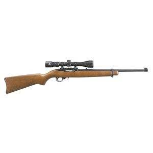 10 / 22 CARABINE SEMI AUTO RIFLE 22LR WD SATBLK 8.5 SCOPE