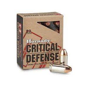 HORNADY CRITICAL DEFENSE 45 AUTO 185GR FTX