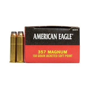 AMERICAN EAGLE .357 MAG HV 158GR JSP