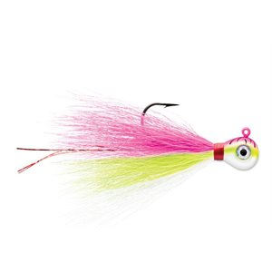 VMC BUCKTAIL JIGS UV BRIGHT PINK FIRE 1 / 8