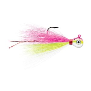 PROSERIES BUCKTAIL JIGS UV BRIGHT PINK FIRE UV 3 / 8