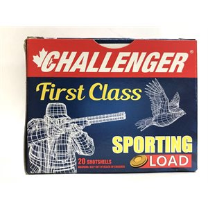 "CHALLENGER MUNITION HIGH VELOCITY 20GA 2 3 / 4"" 7.5 7 / 8 OZ 25G"