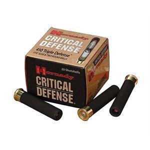HORNADY CRITICAL DEFENCE 410 TRIPLE DEF 2 1 / 2 41 CAL FTX SLU