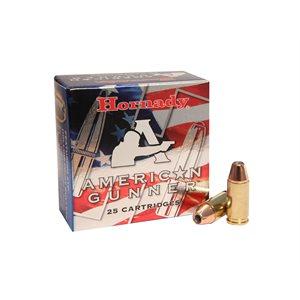 HORNADY AMERICAN GUNNER 9 MM LUGER +P 124 GRN XTP