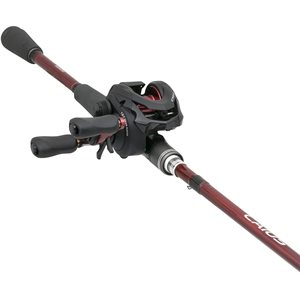 SHIMANO CAIUS COMBO 6' 10'' MEDIUM HEAVY FAST RED 2PC