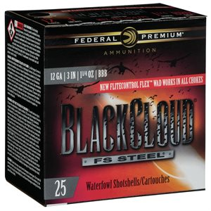 FEDERAL BLACKCLOUD 12GA 3'' 1 1 / 4 BBB