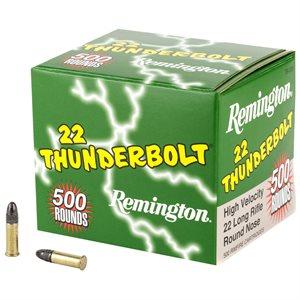 REMINGTON TB-22B THUNDERBOLT 22LR 500 ROUND