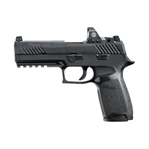 SIG SAUER P320 9MM FULL SIZE 4.7'' BBL BLK WITH ROMEO